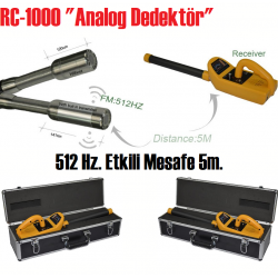 ANALOG Tespit Dedektörü (512 Hz.)