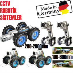 CCTV Pipe İnspection Robot