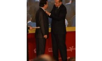 Cumhur Başkanımız R.Tayyip ERDOĞAN'dan Necati DEMİRKIRAN'a Plaket