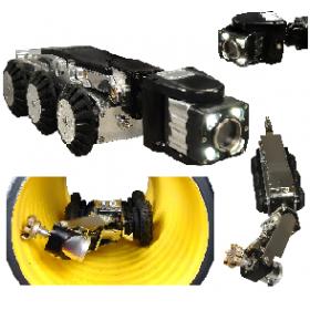 CCTV Kanal Görüntüleme ve Fireze Robotu